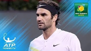 Best shots from brilliant Roger Federer v Hyeon Chung match | Indian Wells 2018