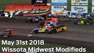 May 31st 2018 RRCS Midwest Modifieds Heats and Feature