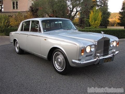 1967 Rolls Royce Silver Shadow - YouTube