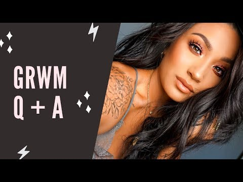 GRWM + Q&A || Answering You Questions With New Products!