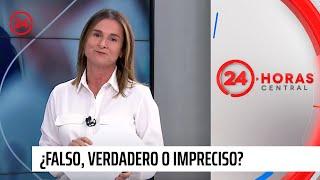¿Falso, verdadero o impreciso?: Paulina de Allende-Salazar chequea información de redes sociales