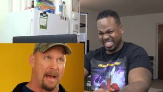 Steve Austin Tries Fancy Cocktails For The First Time REACTION!!!