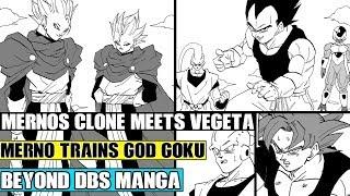 Beyond Dragon Ball Super: The New Angel Merno Trains God Goku! Mernos Clones Challenge Vegeta!