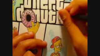 The Simpsons Grand Theft Donut
