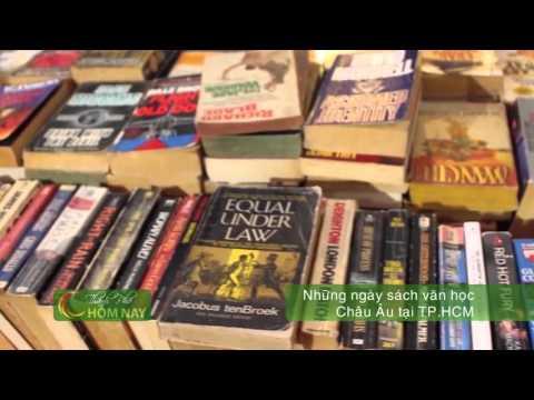 Những ngày sách văn học châu Âu tại TP.HCM - Thành Phố Hôm Nay [HTV9 – 27.04.2016]
