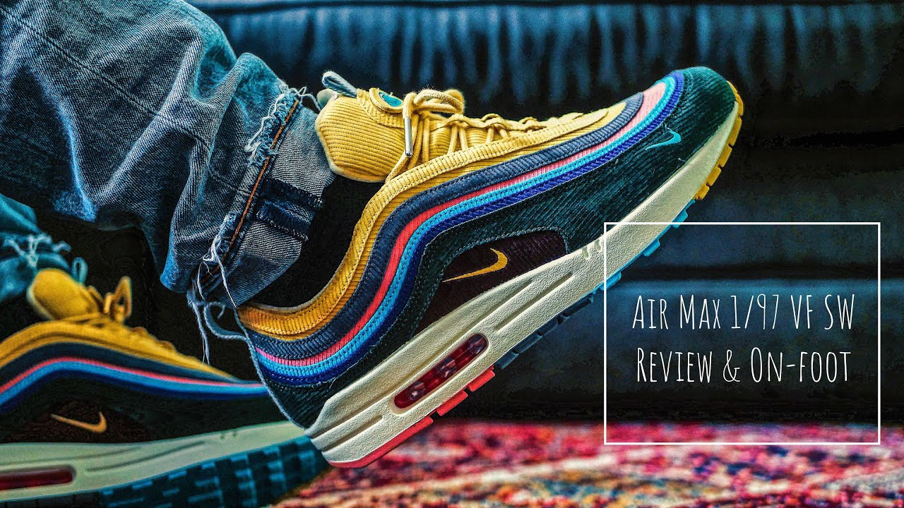 f4b9c37cff4884 Air Max 1 97 VF SW (Review   On-feet) - YouTube