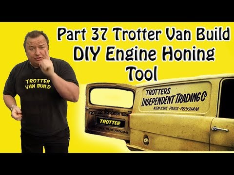 Part 37 Reliant Trotter Restoration DIY Engine  Bore Honing