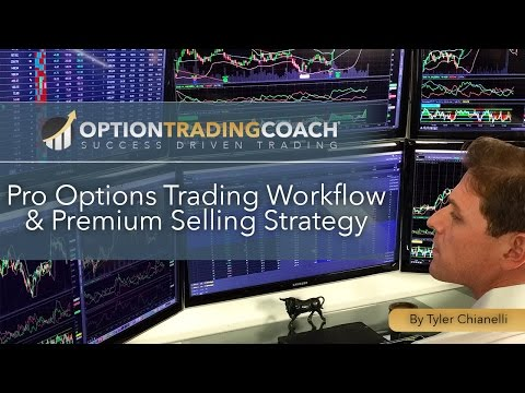 Pro Options Trading Workflow & Premium Selling Strategy