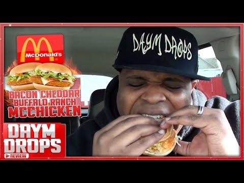 McDonald's Bacon Cheddar McChicken w/ BONUS