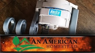Wind Blue Power Wind Turbine - An American Homestead