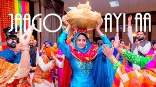 Jago Gidha Boliyan Geet + Nanka Mel - Manreet weds Sumeet | Punjabi Sikh Wedding Calgary