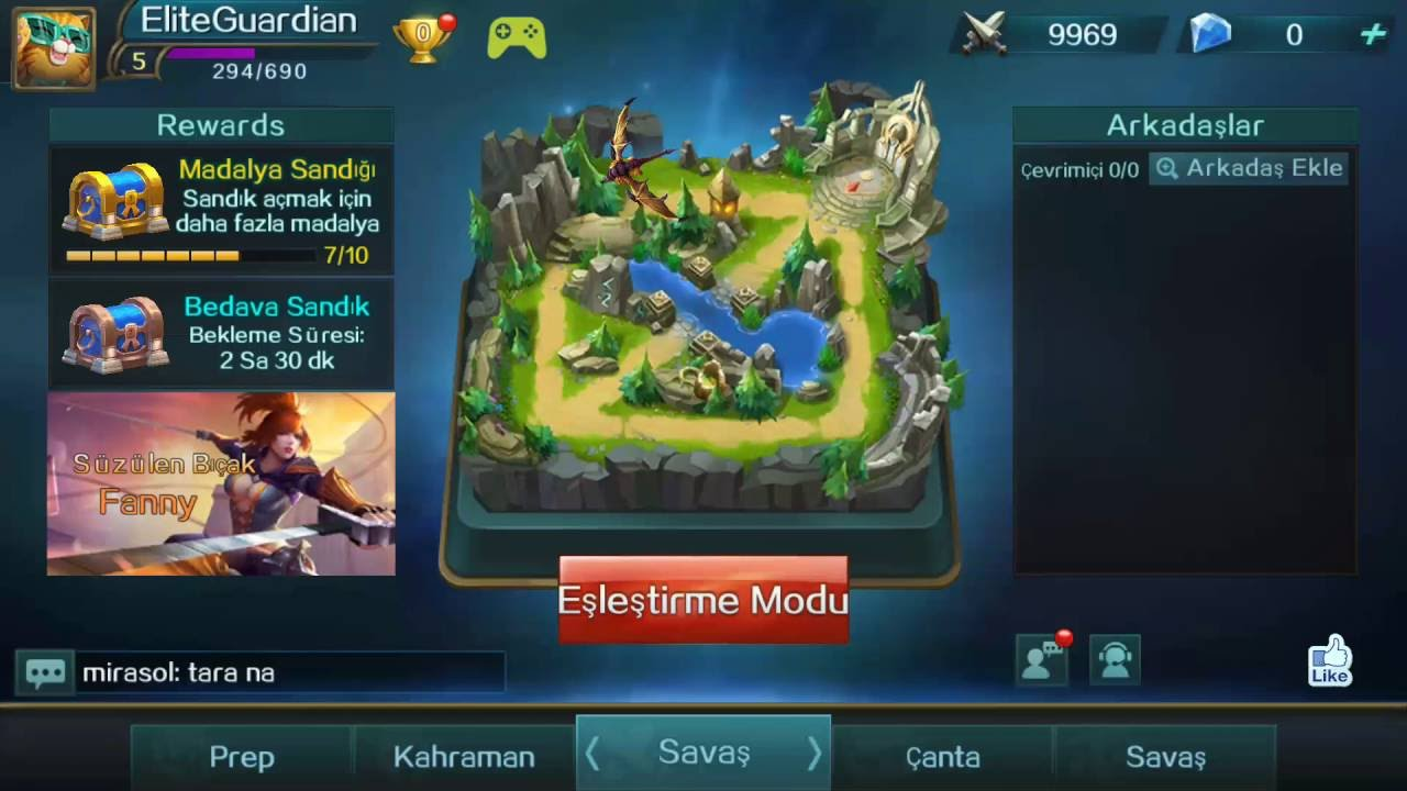 Mobile Legends How to Change Server