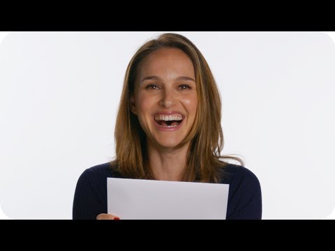 Natalie Portman Guesses Her Old  Answers  Omaze