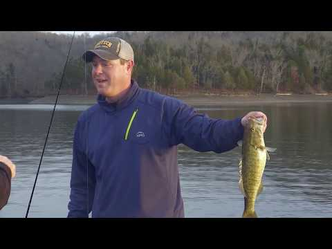 BEST Technique For Winter Smallmouth At Dale Hollow