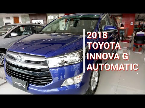 2018 Toyota Innova G Diesel Automatic | Blue | Interior & Exterior Walk Around