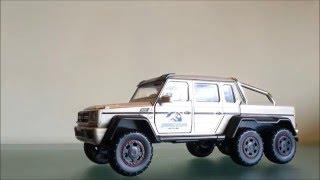 Jada Mercedes benz G 55 amg 6x6 jurassic park edition review