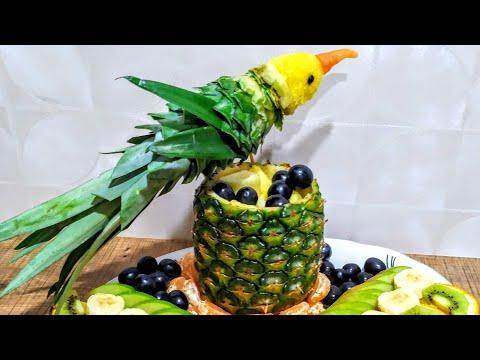 🐦 Красивая Фруктовая Нарезка/Meyvə Kəsimi,Dekoru/How To Make  Delicious Fruit Sliced