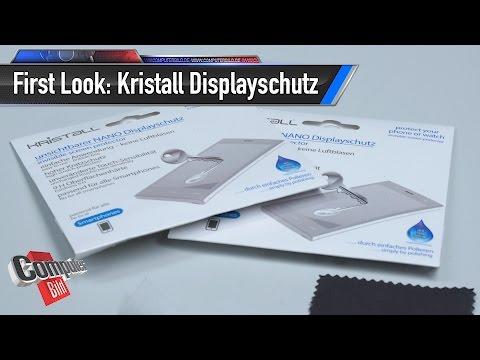 Kristall Nano Displayschutz: Ein Gel um das Handy zu schützen?