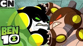 Ben 10 | Attack of the Robot Aliens | Cartoon Network