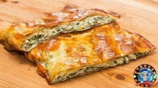 Слоеные Пирожки с Творожным Сыром