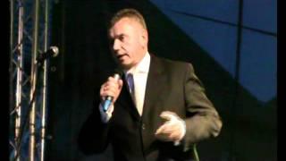 Wójt Gminy Dolice Grzegorz Brochocki - Festyn Dożynkowy Dolice 2011
