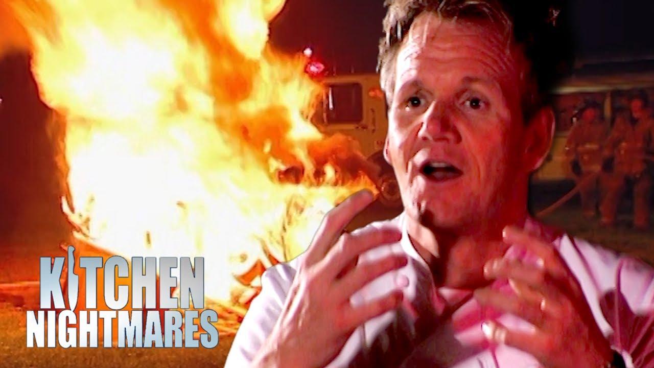 Gordon Sets Kitchen On Fire