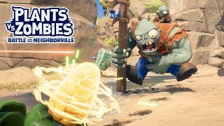 Captain Cannon Kernel vs Gargantuar - Plants vs. Zombies Battle for Neighborville - Gameplay Part 44