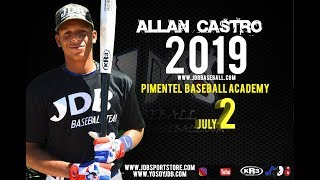 Allan Castro SS 2019 Class from (Pimentel Baseball Academy) Date video: 25.03.2018