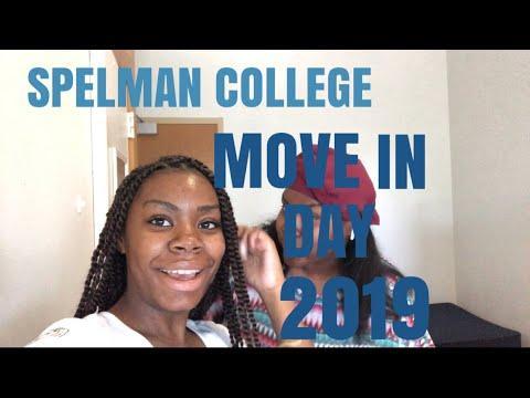 MOVE-IN DAY 2019|| Spelman College Vlog #10| ishlah k'erma