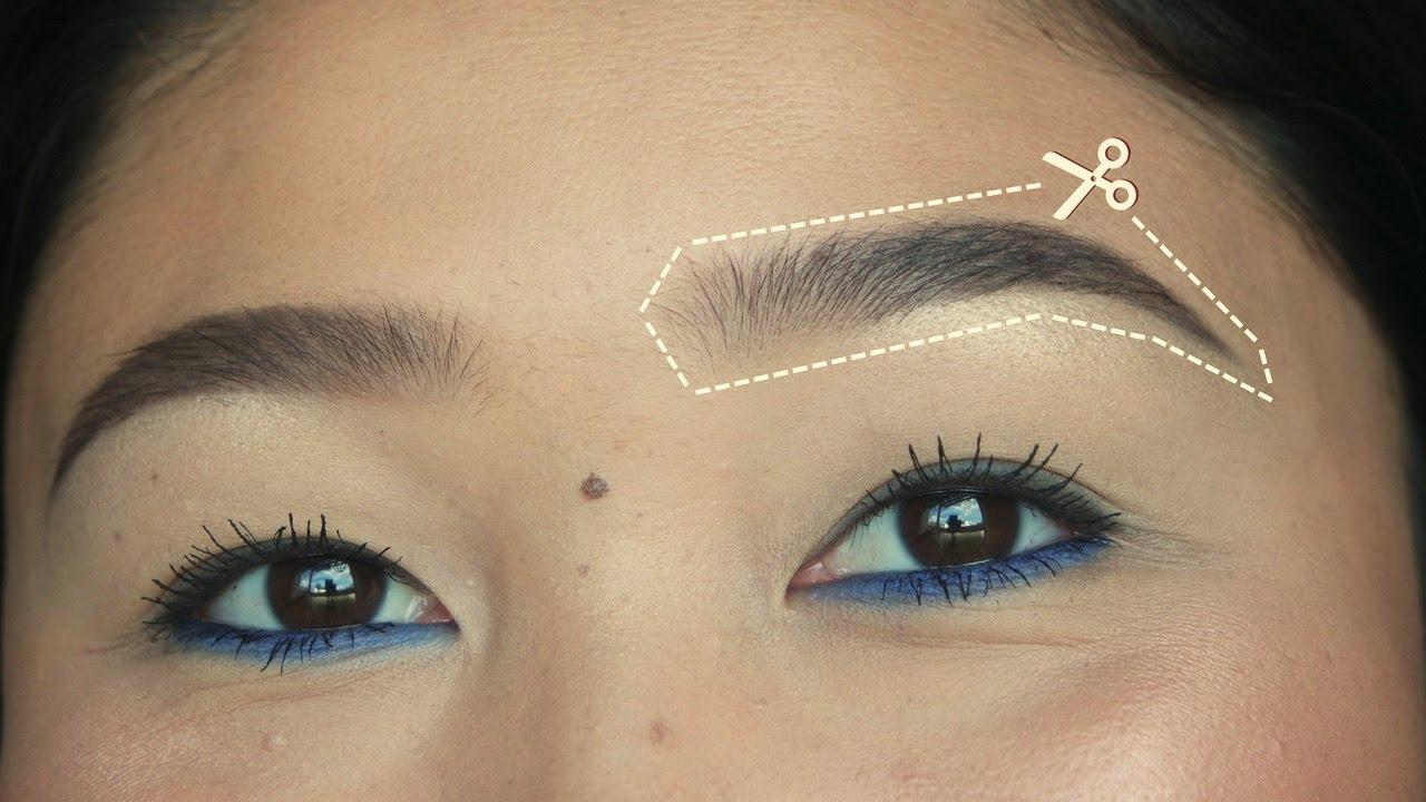 Eyebrow Stencil Eylure Stencils Youtube