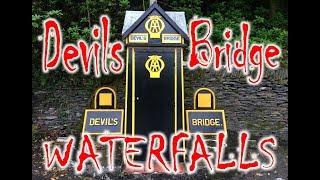 Devils Bridge Waterfalls Walk Inc Jacobs Ladder an Robbers Cave 2018 Wales UK