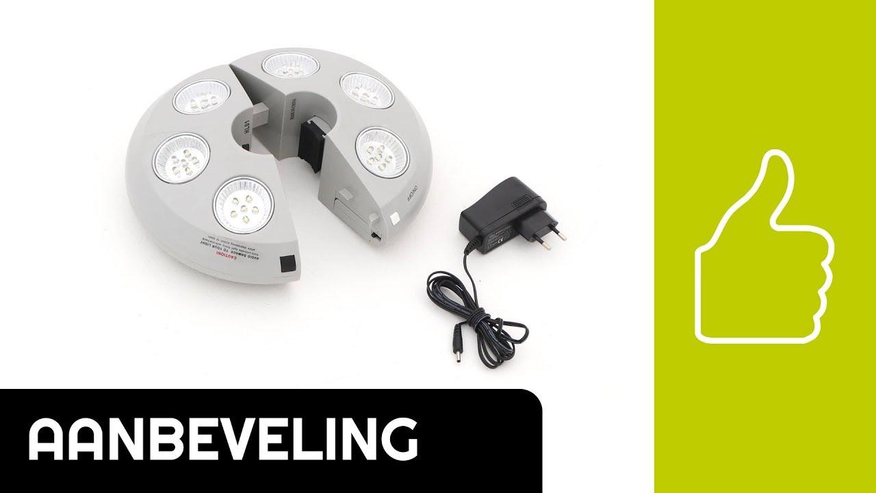 Aanbeveling zweefparasol | Shadowline 6-LED parasolverlichting ...