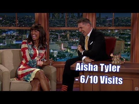 Aisha Tyler - Details On What She Likes In Bed - 6/10 Visits In Chronological Order [240-1080]