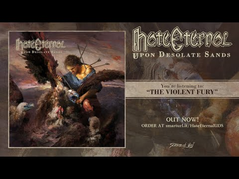 Hate Eternal - Upon Desolate Sands (2018) Full Album stream! thumb