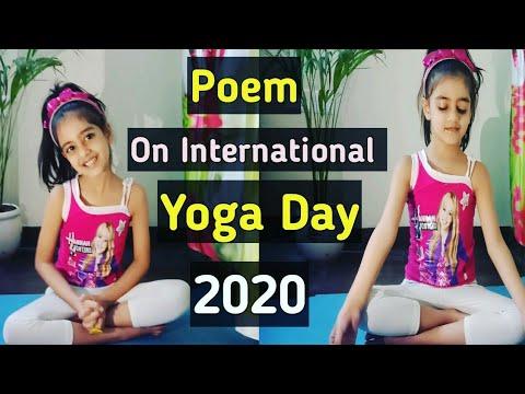 yoga poem on 6th international day of yoga 2020 ll yoga