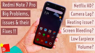 Redmi Note 7 Pro Big Problems, issues and their Fixes | Dull Screen? Netflix HD? thumbnail