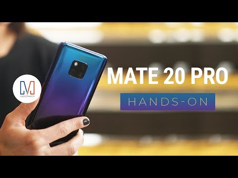 Huawei Mate 20 Pro Hands-On: Best phone of 2018?