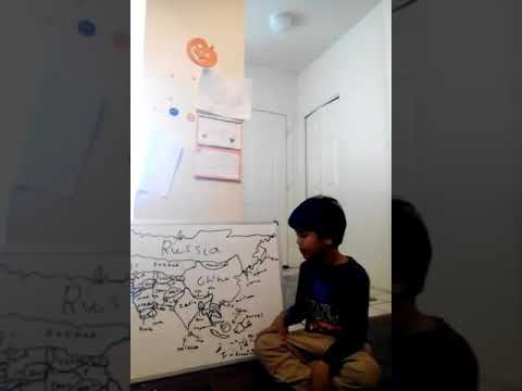 Learn countries of Asia with Dhruv
