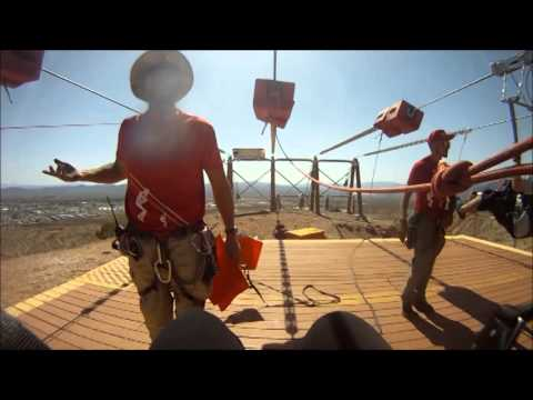 Bootleg Canyon Zipline GoPro Movie 2014