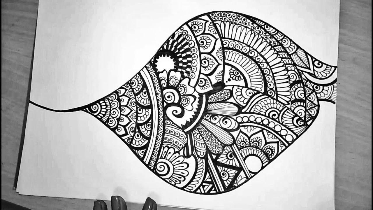 78+ Gambar Zen Doodle Terlihat Keren