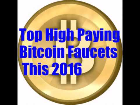 Top Bitcoin Faucets 2016