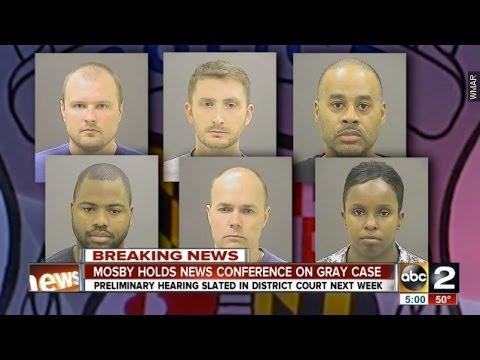 Grand Jury Indicts 6 Police Officers In Freddie Gray's Death