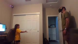 Playing Catch in VR