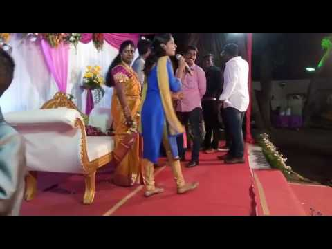 Chennai Event Emcees hosting wedding reception of Event manager Vinoth, Design Pallete