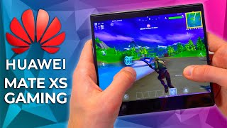Huawei Mate XS 2020 GAMING TEST - FORTNITE Gaming Review with KIRIN 990!