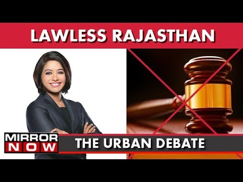 Lawless Rajasthan: Chilling Murder Caught On Camera Shocks The Country I The Urban Debate