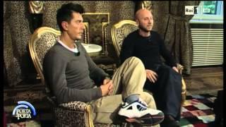La storia della coppia di stilisti Domenico Dolce e Stefano Gabbana - Porta a porta 26/03/2015