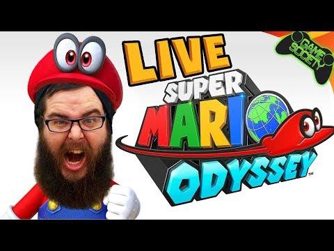 Super Mario Odyssey LIVE - Game Society