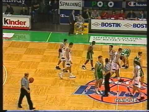 Benetton TV - Kinder BO 78-58 (Supercoppa Basket ITA 1997)