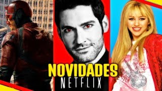 Netflix confirma data estreia LUCIFER, RIVERDALE, DEMOLIDOR, FLASH, THE WALKING DEAD e outras séries